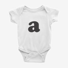 Personalised Initial Baby Bodysuit