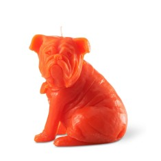Sam the dog candle