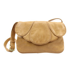 San Francisco leather bag in honey