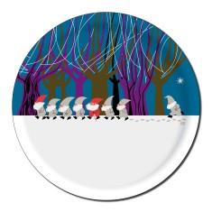 Round Santa tray