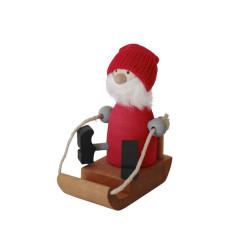 Santa Bosse on sleigh decoration