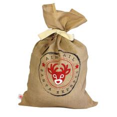 Reindeer Christmas sack