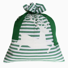 Classic Santa sack in green