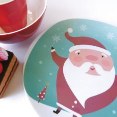 Santa dinner set