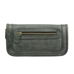 Santiago ladies wallet in licorice