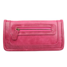 Santiago ladies wallet in pomegranate
