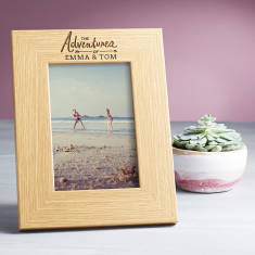The Adventures Of... Personalised Photo Frame