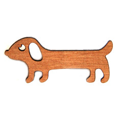 Benji the Sausage Dog Brooch