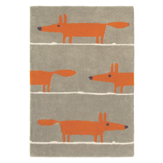 Brink & Campman scion Mr Fox wool rug in cinnamon