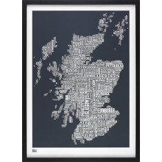 Bold & Noble Scotland type map