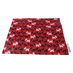 Scotty dogs pet mat for under the feed bowl