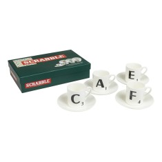 Scrabble espresso set