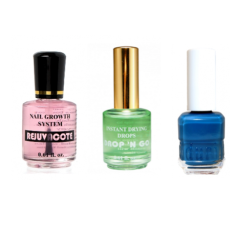 Special offer, Rejuvacote + Drop 'N Go + free nail polish