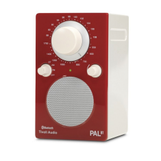 PAL BT portable bluetooth radio in red