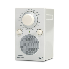PAL BT portable bluetooth radio in white