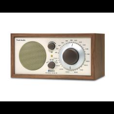 Model one BT bluetooth table radio in classic walnut
