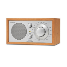 Model one BT bluetooth table radio in cherry silver