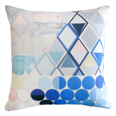 Ultra marine blue cushion cover