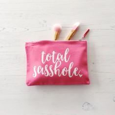 Sasshole makeup bag