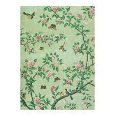 IXXI chinese wallpaper no 7 green wall art