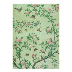 IXXI chinese wallpaper no 7 green wall art
