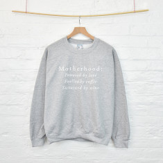 Mother's Day motherhood sweatshirt