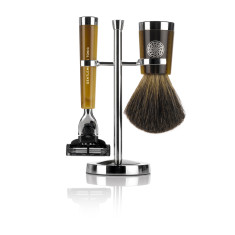 Savile Row Shaving Set - Horn