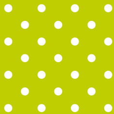 Francoise paviot paper napkin dots lime green (pack of 20)