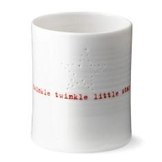 Anne Black twinkle twinkle little star tealight holder