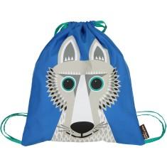 Organic cotton Wolf rucksack