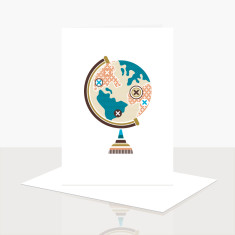 See the World Greeting Card (Pack of 8)