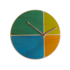 Objectify Segments Wall Clock