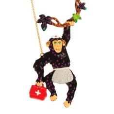 Monkey necklace