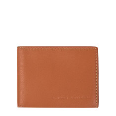 Felix leather wallet in camel