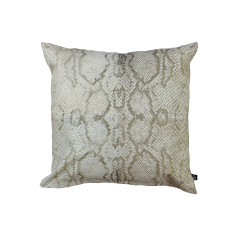 Serpiente cushion cover in cream