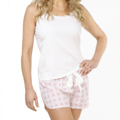 Ascot short set in pink