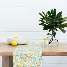 Tablerunner - Wattle cream