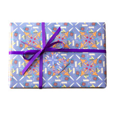 Sewing wrapping paper set