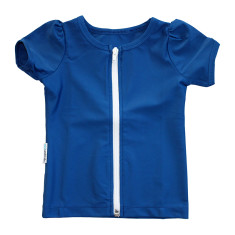 Short sleeve rashie for girls in Infinito