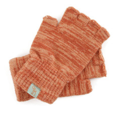 Fagin - fingerless Merino wool gloves