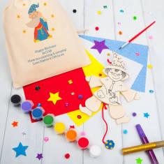 Personalised Jumping Jack Wizard Craft Kit