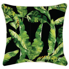Outdoor Cushion Cover-Belize Black (various sizes)
