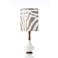 Electra small table lamp in Wild Dagger Earth