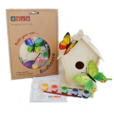 Build and Decorate a Birdhouse Kit