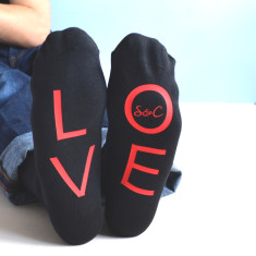 Personalised LOVE Socks