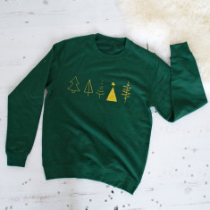Glitter Tree Christmas Jumper