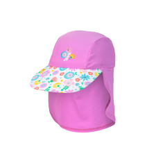 Girls' UPF 50+ Bloom Print Cap