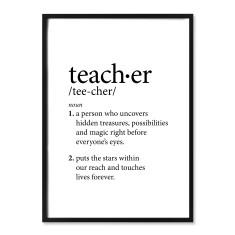 Teacher Definition Print