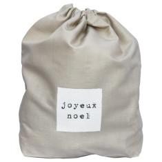 Joyeux Noel mini Santa sack