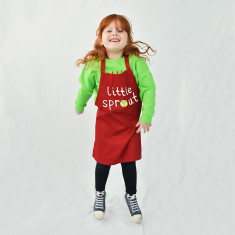 Little Sprout Children's Christmas Apron